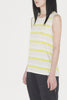 Agate Twisted Back Tank (stripes)