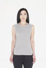 Castor Contrast Back Tank (grey / denim)