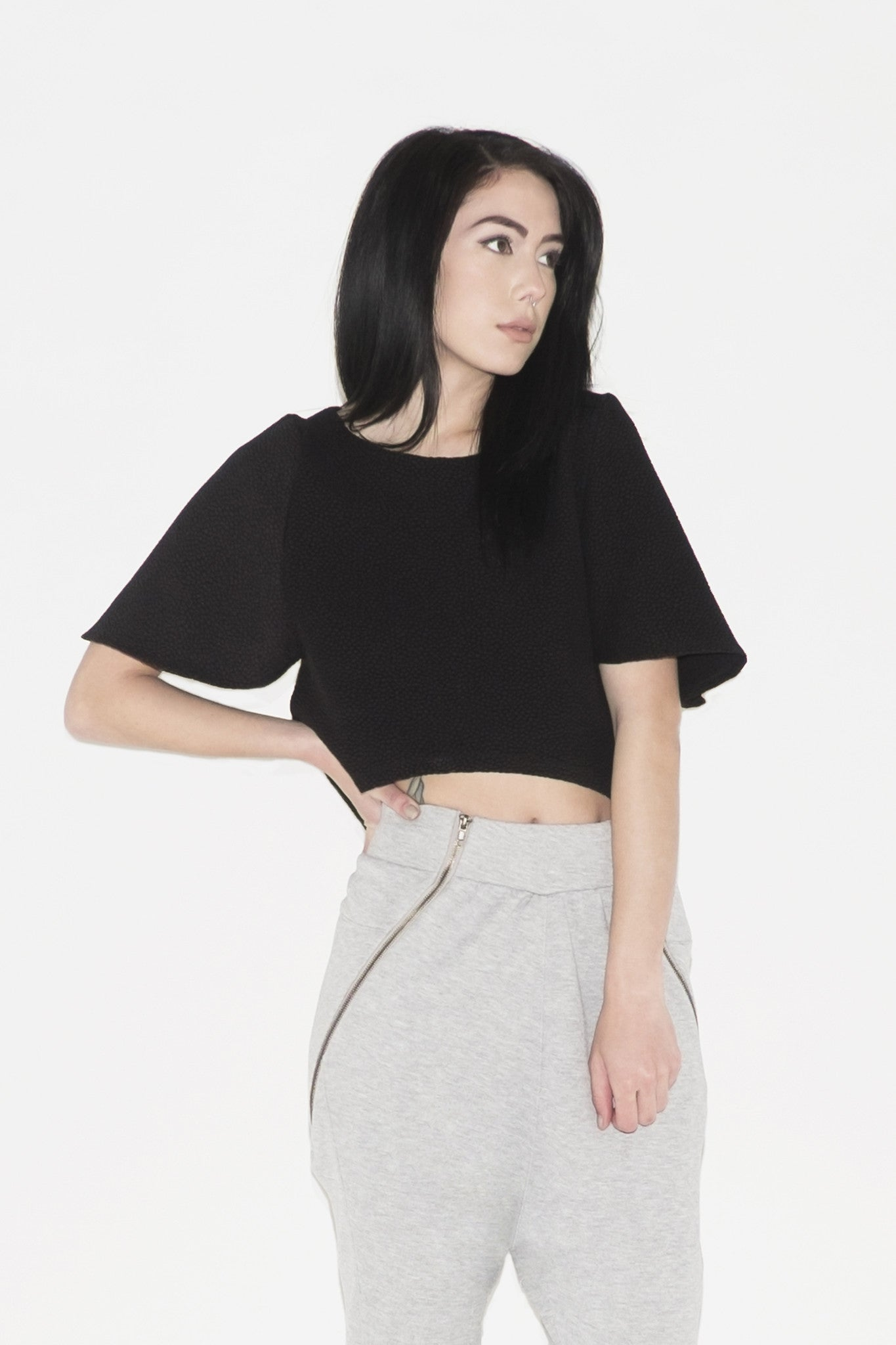W Desert Rose Cropped Top