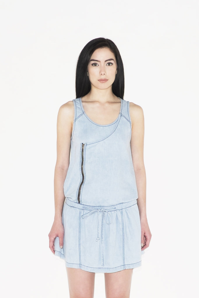 W Capella Denim Tank Dress