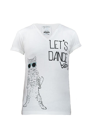 Let's Dance - White (unisex)