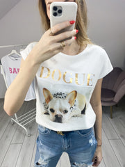Bluzka T-shirt Dogue