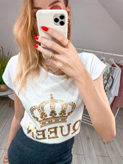 Bluzka T-shirt Queen
