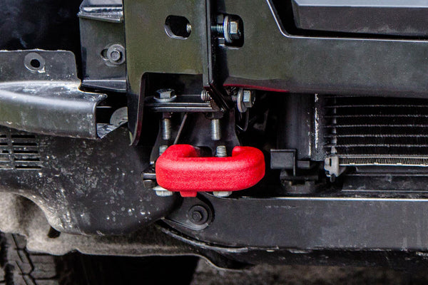 WK2 Hidden Winch Mount (OEM Tow Hooks KIT) | Chief Products