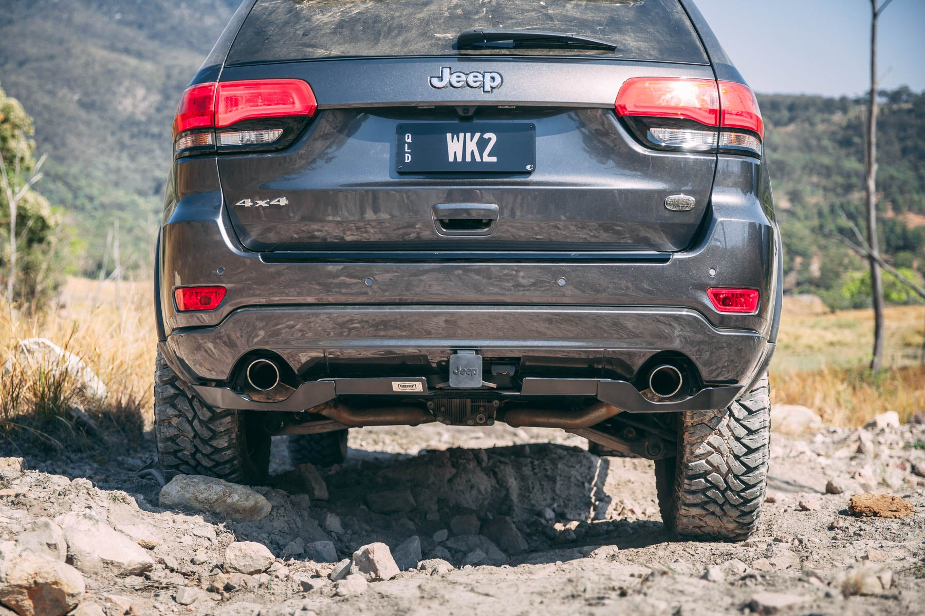 WK2 Rear Bumper Guard | Chief Products