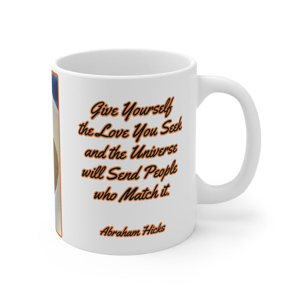 Attract Relationships - Law of Attraction Mug 11oz