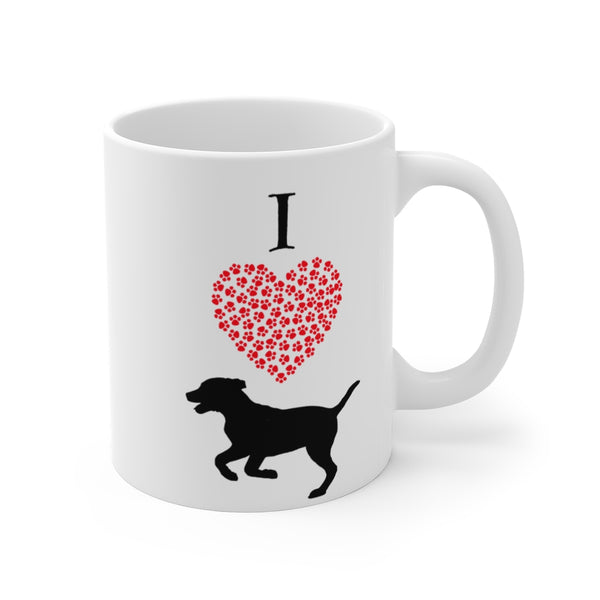 I Love My Dog More Than Coffee - Coffee Mug 11oz