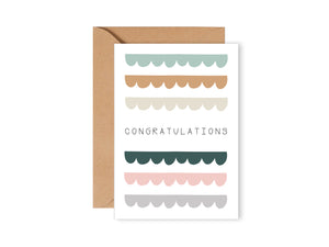 Rectangle Card - Congratulations