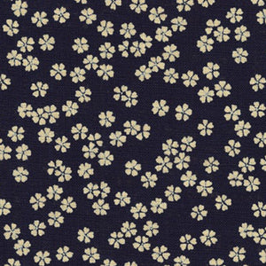 Nara Homespun Indigo Prints - Flower
