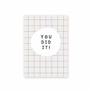 Rectangle Post card - You did it