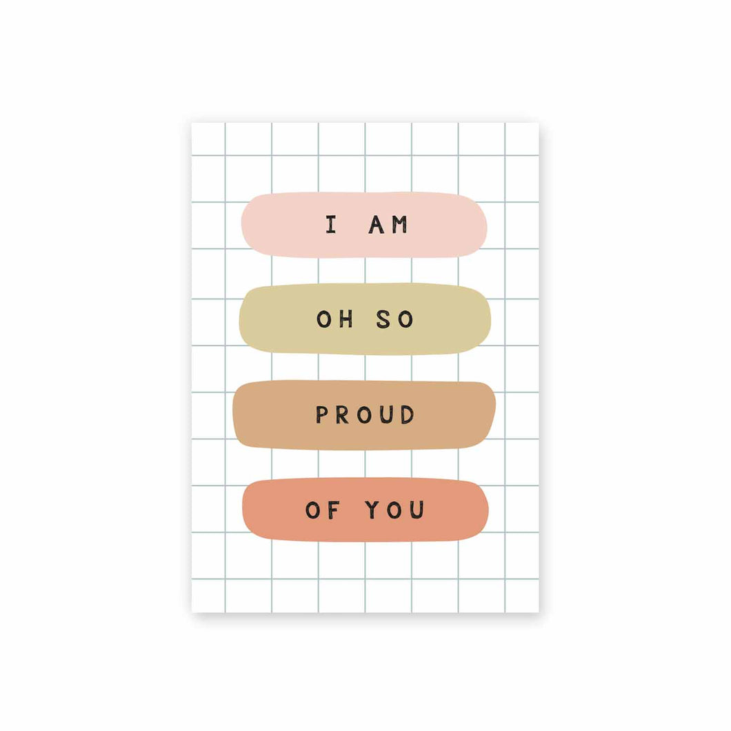 Rectangle Postcard - I am so proud of you