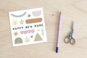 Square Card - Happy new home