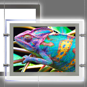 LED Acrylic Light Box Frame – LANDSCAPE / SINGLE SIDED