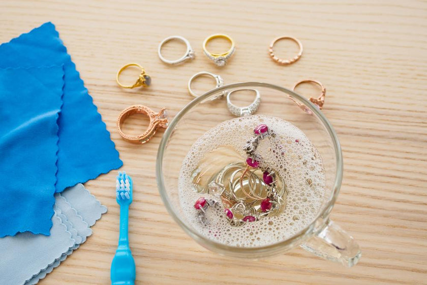 How to Sterilize and Clean Your Earrings, Rings and Other Jewelry at H -  Innovato Design