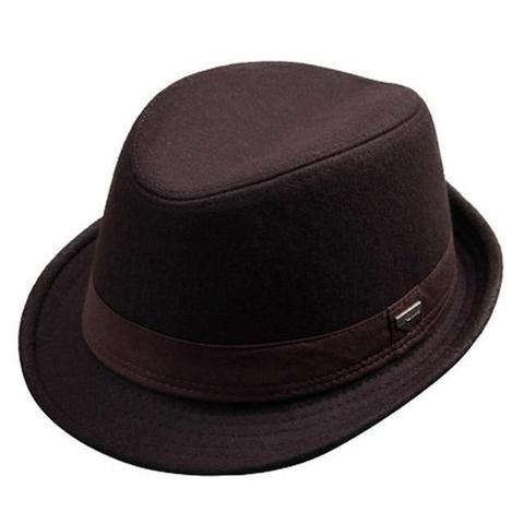 Straight Quilt Stitched Brim Polyester Hat (4 Available Colors)