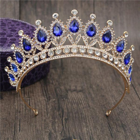 Queen Bridal Tiara in fifteen styles