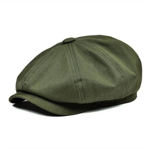 Breathable Muffin Top Cotton Newsboy Cap