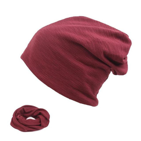 Thin Woven Cotton Slouch Cap (5 Available Color)