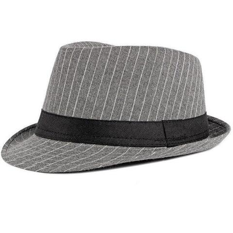 Striped Dipped Front Polyester Hat (4 Available Colors)