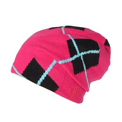 Skater Checkered Cotton Woven Slouch Cap (4 Available Color)