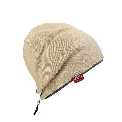 Zippered Embroidered Cotton Woven Cap (4 Available Color)