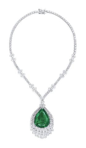 The Imperial Emerald of the Grand Duchess Vladimir of Russia Necklace