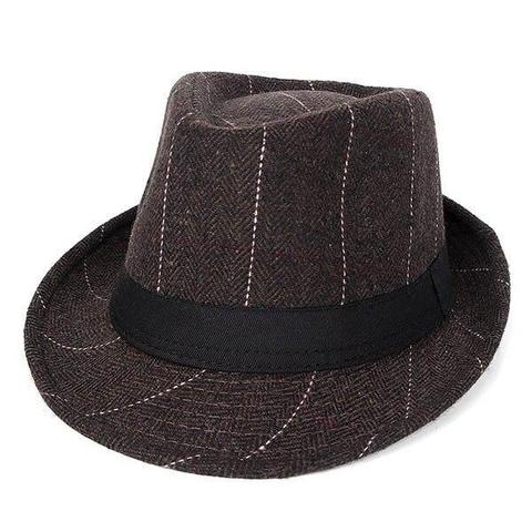 Retro Wide Striped Polyester Hat (3 Available Colors)
