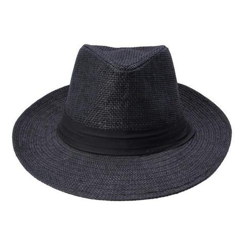 Classic Wide Brim Straw Panama Hat (7 Available Colors)