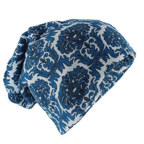 Ethnic Pattern Polyester Slouch Cap (14 Available Color)