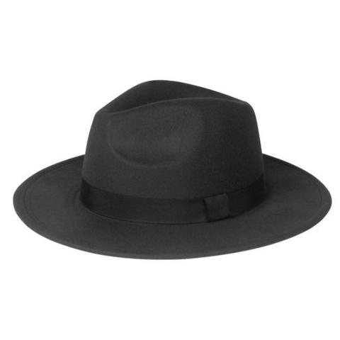 Polyester Medium Height Fedora Hat (21 Available Colors)