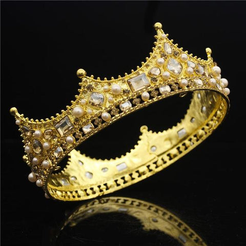 King and Queen Tiara Crown
