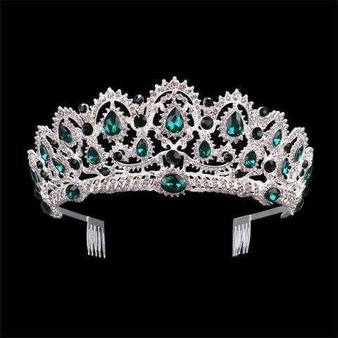 Luxury Vintage Crown Hair Jewelry