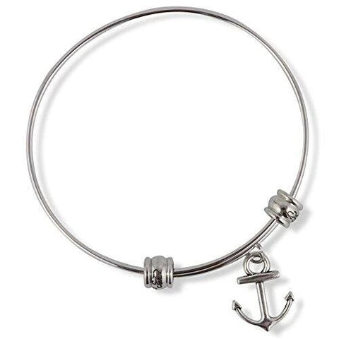 Adjustable Anchor Bangle