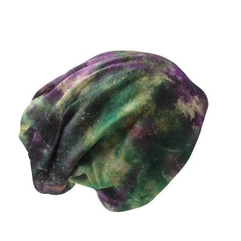 Cosmos Polyester Woven Scarf Cap (3 Available Color)