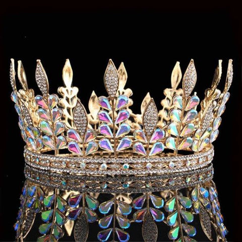 King and Queen Rainbow Tiara