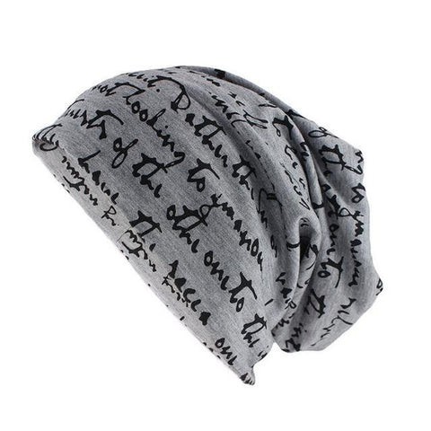 Calligraphy Design Cotton Woven Cap (7 Available Color)