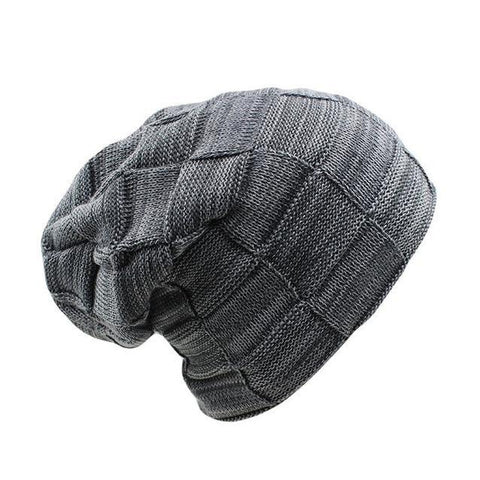 Thick Polyester Knitted Skull Cap (7 Available Color)