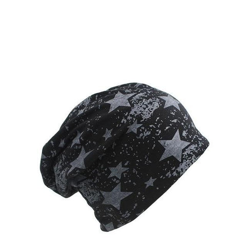 Astronomical Print Polyester Slouch Cap (5 Available Color)