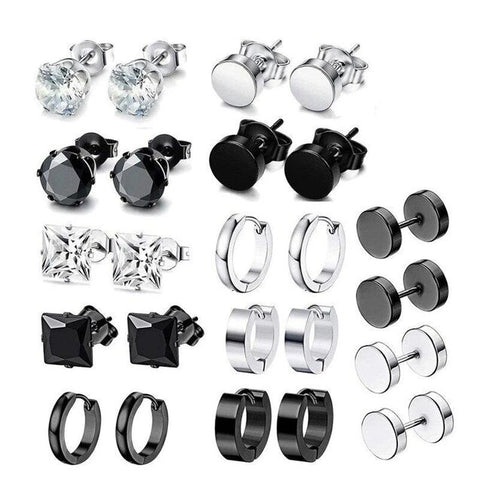 Wholesale Multiple Style Stainless Stud Earring Collection