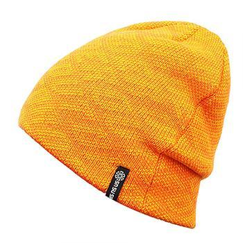 Striped Cotton Knitted Fitted Cap (4 Available Color)