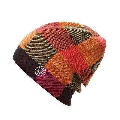 Multicolored Checkered Bonnet (4 Available Color)
