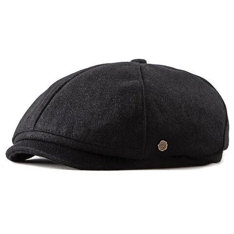 Muffin Top Traditional Wool Gatsby Cap