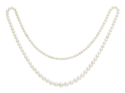 Exceptional Natural Pearl String