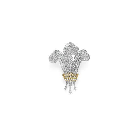 The Prince of Wales Diamond Brooch