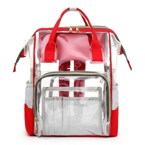Transparent Multi-function Travel Backpack for Mothers
