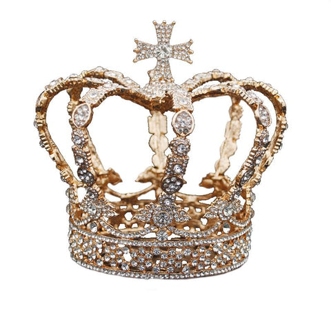 Gold and Crystal Crown