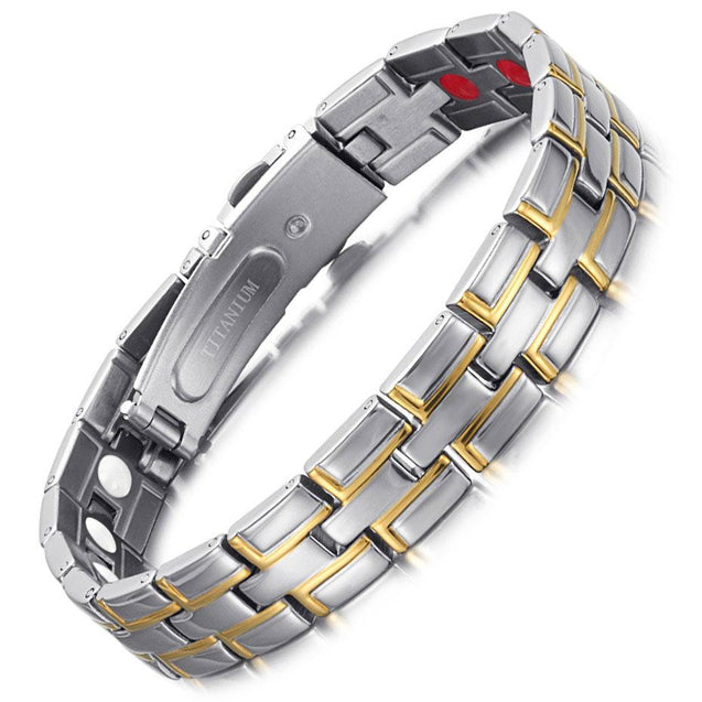 Silver & Gold Plated Hologram Bracelet - InnovatoDesign