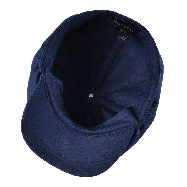 Large Retro Twill Cotton Newsboy Cap