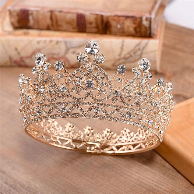 Spanish Queen Baroque Crown in Two Models for Women - InnovatoDesign