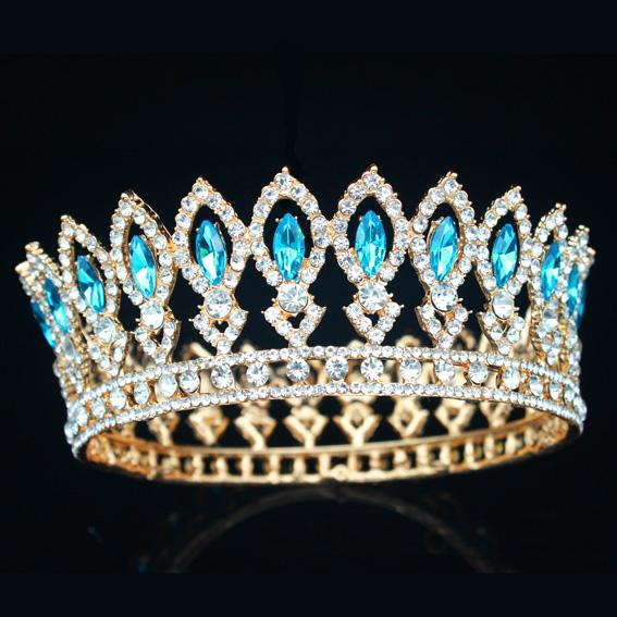 Princes & Queen Baroque Tiaras and Crowns for Women - InnovatoDesign